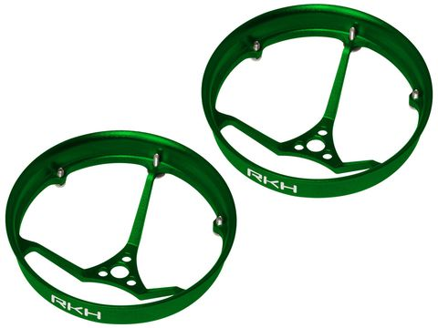 Rakonheli CNC AL 31mm Propeller Duct (2) (for 0603, 0703 Motor) (Green)