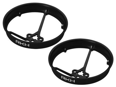 Rakonheli CNC AL 40mm Propeller Duct (2) (for 0603, 0703, 1103 Motor) (Black)