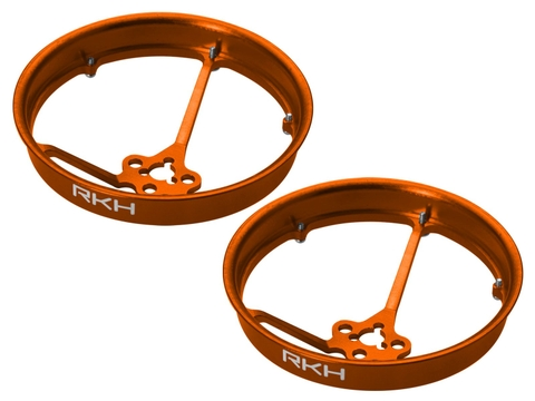 Rakonheli CNC AL 40mm Propeller Duct (2) (for 0603, 0703, 1103 Motor) (Orange)