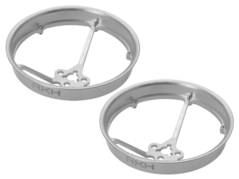 Rakonheli CNC AL 40mm Propeller Duct (2) (for 0603, 0703, 1103 Motor) (Silver)