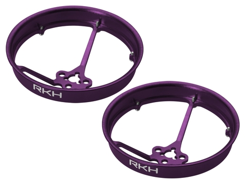 Rakonheli CNC AL 40mm Propeller Duct (2) (for 0603, 0703, 1103 Motor) (Purple)