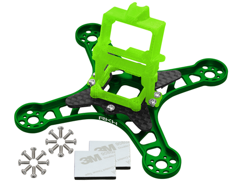 Rakonheli CNC Upgrade Kit (Green) - EMAX Babyhawk