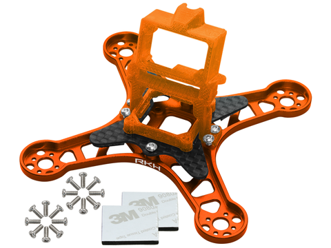 Rakonheli CNC Upgrade Kit (Orange) - EMAX Babyhawk