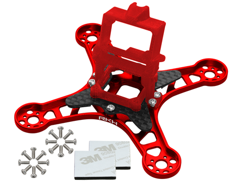 Rakonheli CNC Upgrade Kit (Red) - EMAX Babyhawk