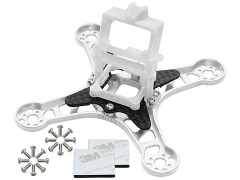 Rakonheli CNC Upgrade Kit (Silver) - EMAX Babyhawk 85mm