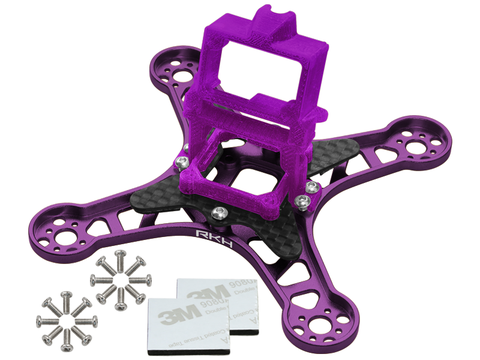 Rakonheli CNC Upgrade Kit (Purple) - EMAX Babyhawk