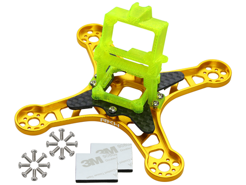 Rakonheli CNC Upgrade Kit (Gold) - EMAX Babyhawk