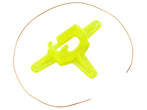TPU Micro FPV Camera Mount-10 Degrees (Yellow)