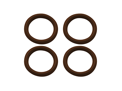 Rubber O-Ring 6x1mm (Brown)