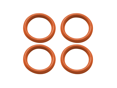 Rubber O-Ring 6x1mm (Orange)