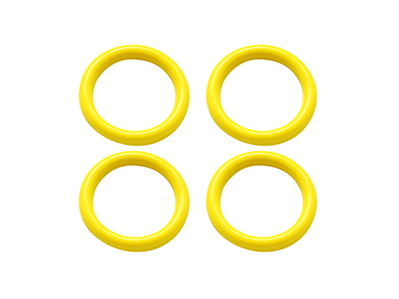 Rubber O-Ring 6x1mm (Yellow)