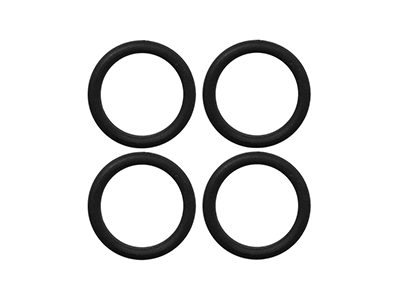 Rubber O-Ring 6x1mm (Black)