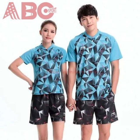Badminton Shirt Lining 2097 Blue