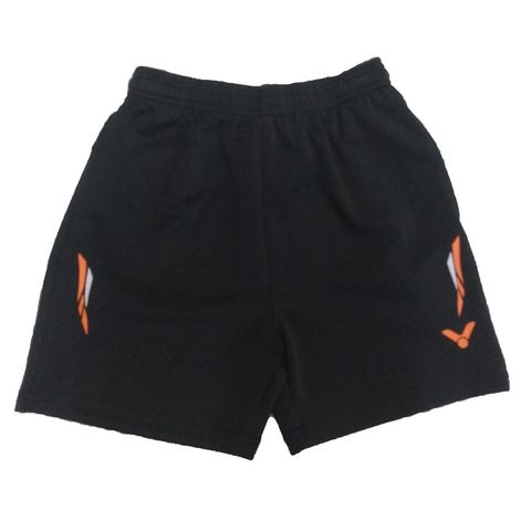 Badminton Shorts Victor Factory Made Striped Orange White