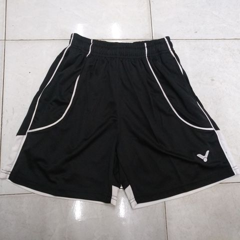 Badminton Shorts Victor Factory Made black white