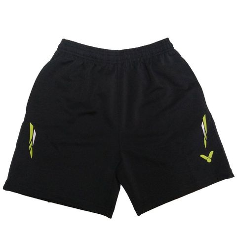 Badminton Shorts Victor Factory Made Striped Lime White