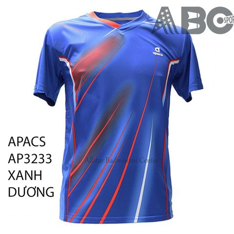 Apacs Badminton T-shirt Original 3233 Blue
