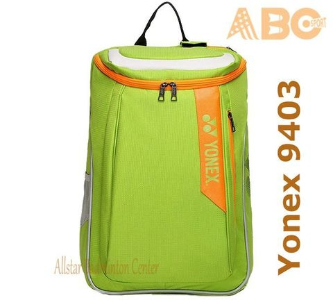Badminton Backpack Yonex Factory Made B9403 - Lime