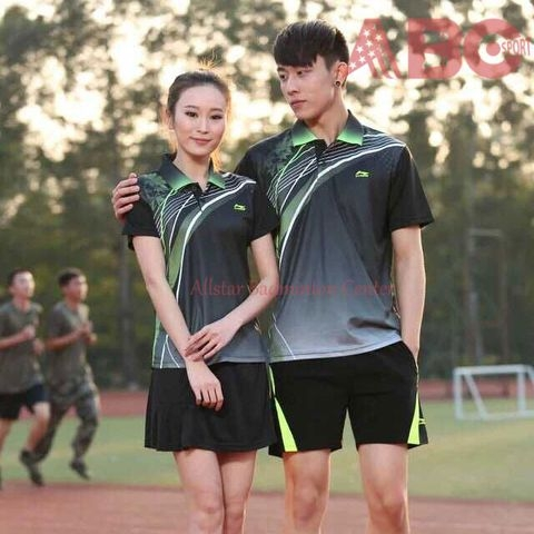 Badminton Shirt Lining 1678 Black