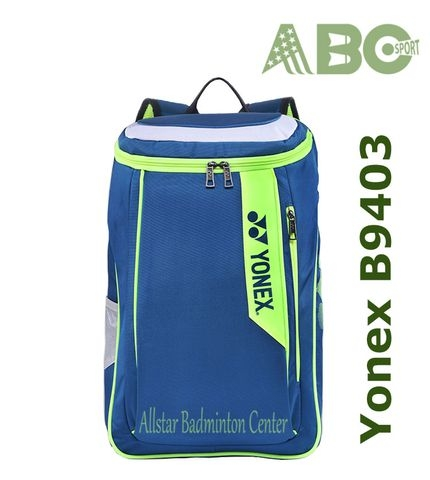 Badminton Backpack Yonex Factory Made B9403 blue