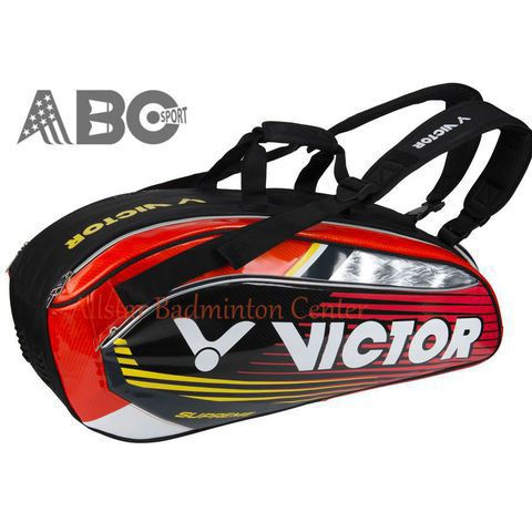 Badminton Bag Victor BR9207 - Black Red