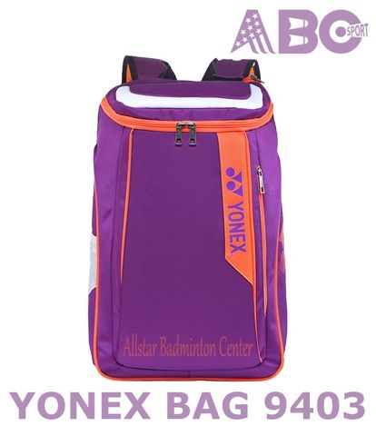 Badminton Backpack Yonex Factory Made B9403 purple