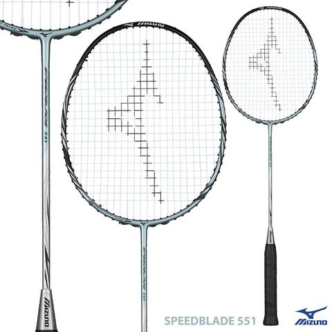Badminton Racket Mizuno Original Speed Blade 551