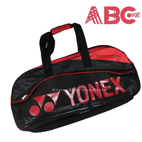 Badminton Bag Yonex ABC631 - Black Red