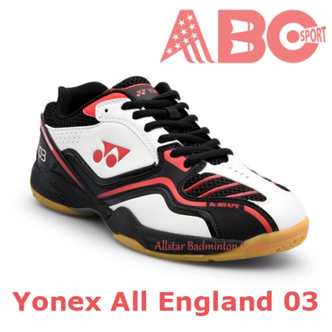 Badminton Shoes Yonex All England 03 - Red