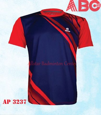 Apacs Badminton T-shirt Original 3237 Red Blue