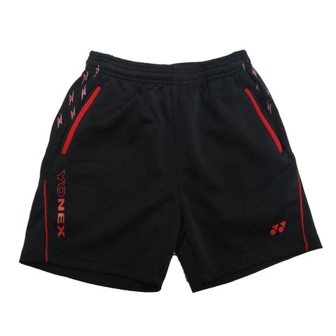 Badminton Shorts Yonex Factory Made Thunder Red