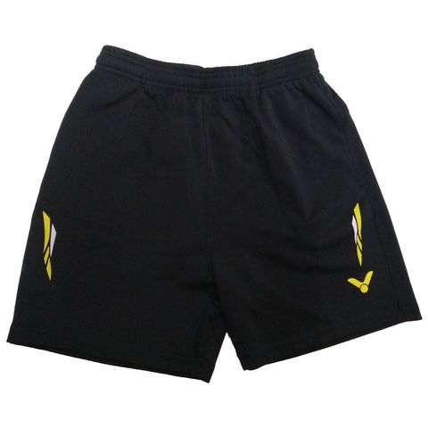 Badminton Shorts Victor Factory Made striped yellow white