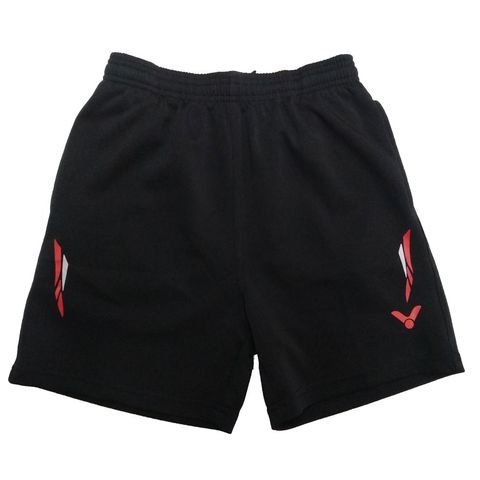 Badminton Shorts Victor Factory Made striped red white