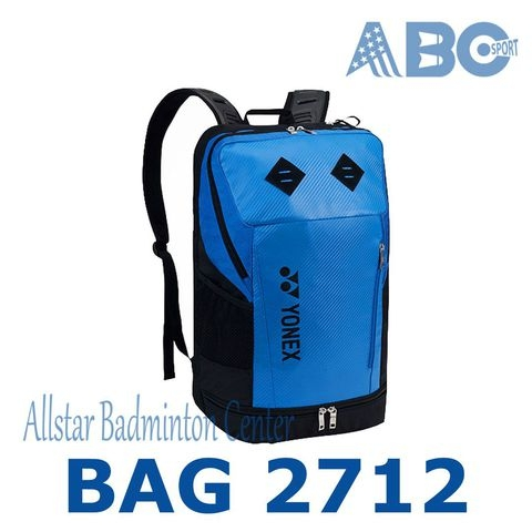Badminton Backpack Yonex Original BAG2712 Blue