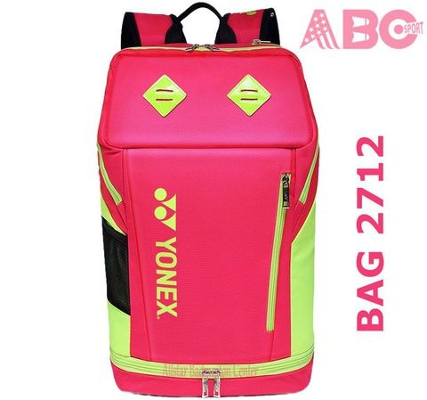 Badminton Backpack Yonex Factory Made 2712 LEX pink