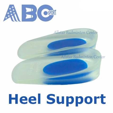 Heel Sole Support Badminton Shoes Silicon