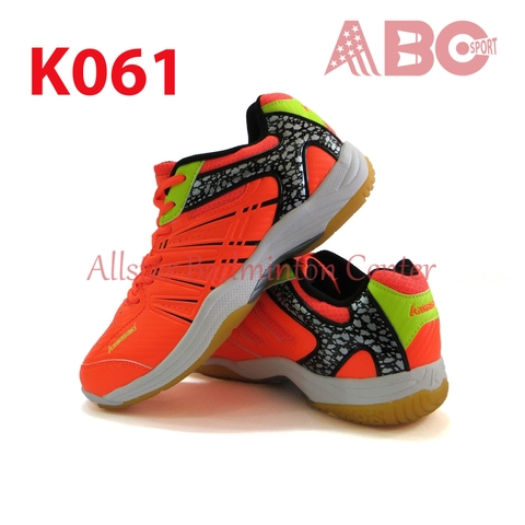 Badminton Shoes Kawasaki K061 Orange