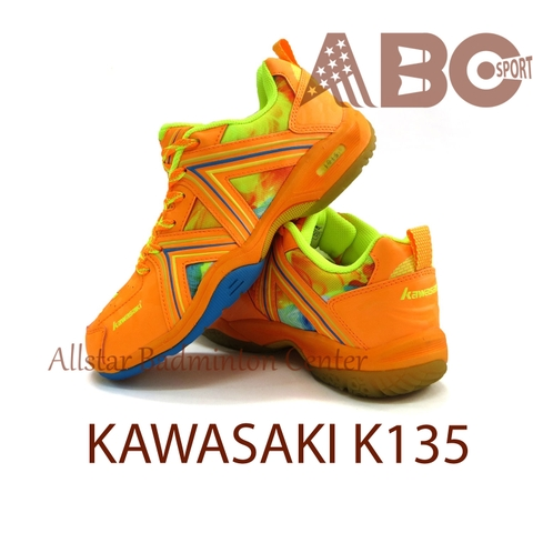 Badminton Shoes Kawasaki K135 Orange