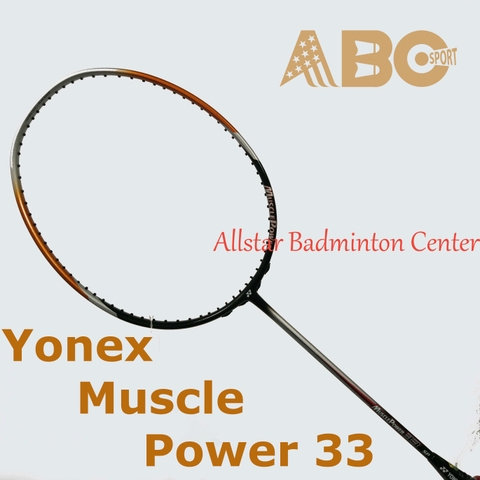 Badminton Racket Yonex Original Muscle Power 33