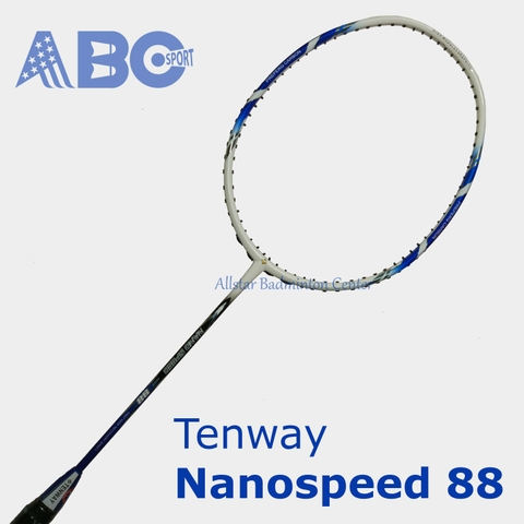 Badminton Racket Tenway Original Nano Speed 88