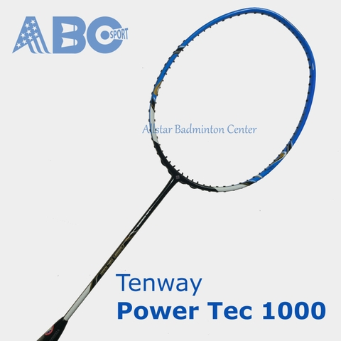 Badminton Racket Tenway Original Power Tec 1000