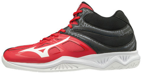 Badminton Shoes Mizuno Thunder Blade Red - White - Black