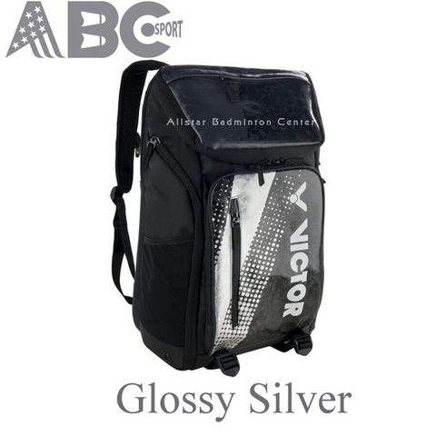 Victor Backpack Glossy Silver I008