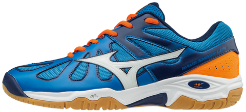 Badminton Shoes Mizuno Wave Smash Lo4 Blue