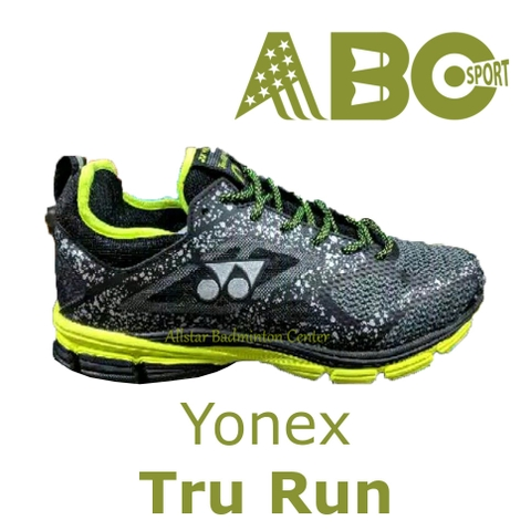 Running Shoes Yonex Tru Run Alpha blue lime grey black