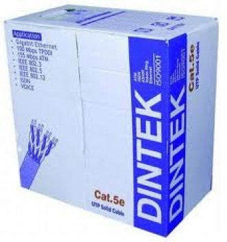 DINTEK CAT.5e FTP 305m