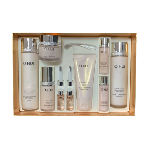 SET OHUI MIRACLE MOISTURE 9SP HỒNG (SET)