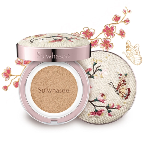PHẤN NƯỚC SULWHASOO PERFECTING CUSHION EX DUO #21 NATURAL PINK (HỘP)