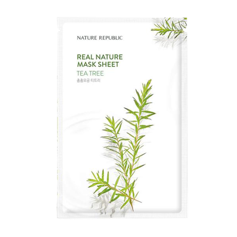 MẶT NẠ NATURE REPUBLIC # TEA TREE