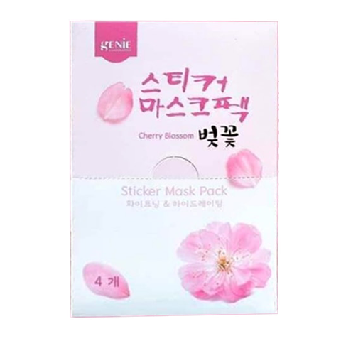 MẶT NẠ GENIE - CHERRY BLOSSOM STICKER MASK PACK